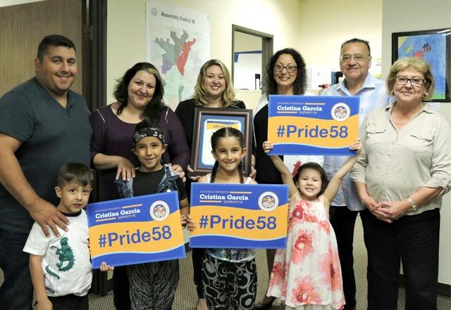 Gia Pacheco awarded Pride 58